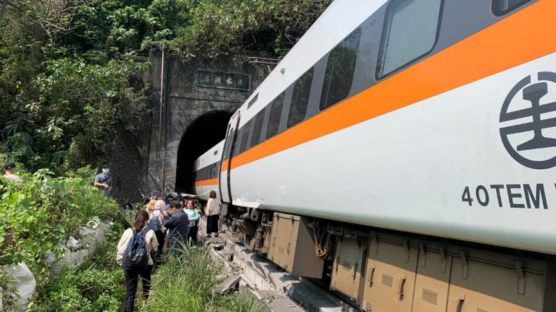 The suspect in the derailment of the Taiwan train has been released on bail