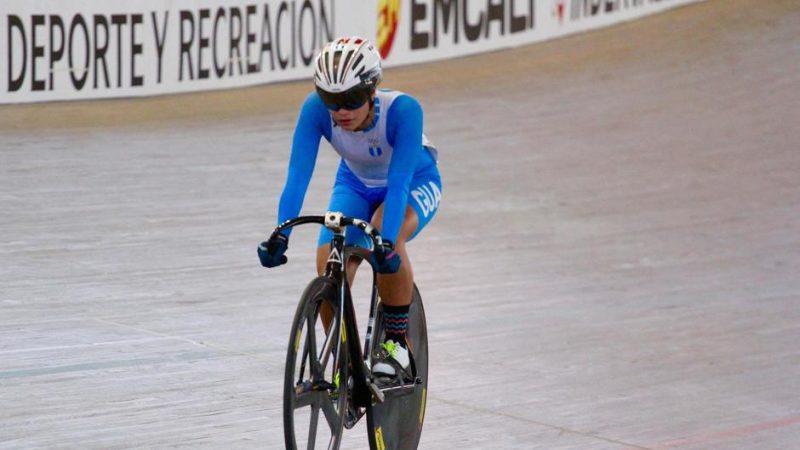 Nicole Rodríguez tendrá participación en dos eventos en Bélgica y Hong Kong. (Foto: Federación Guatemalteca de Ciclismo)