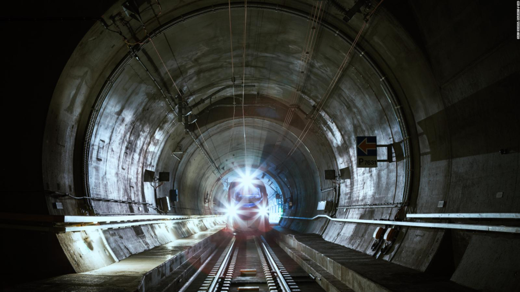 This will be the longest railway tunnel in the world