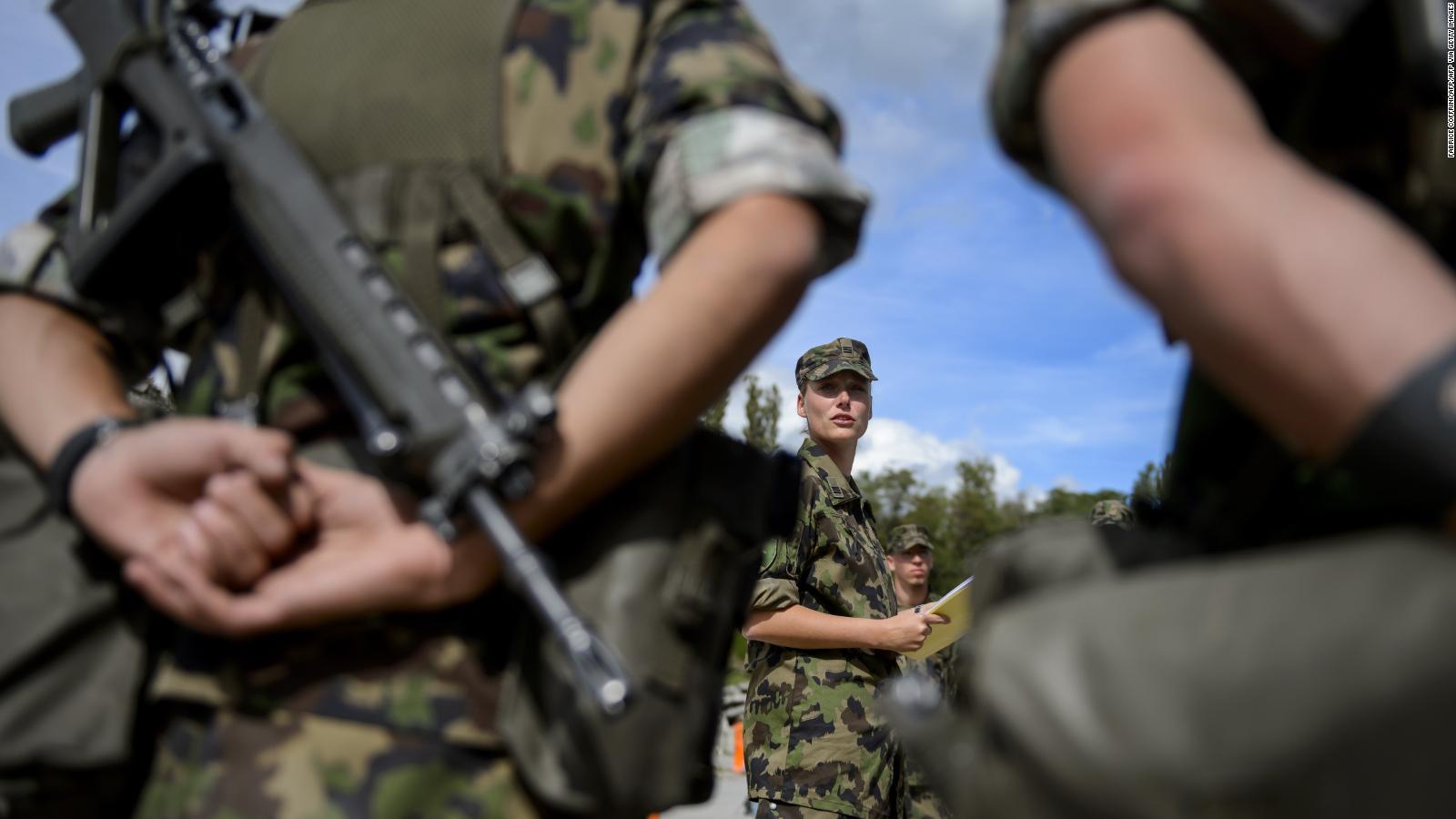 Women in the Swiss Army will no longer have to wear men's underwear    Video