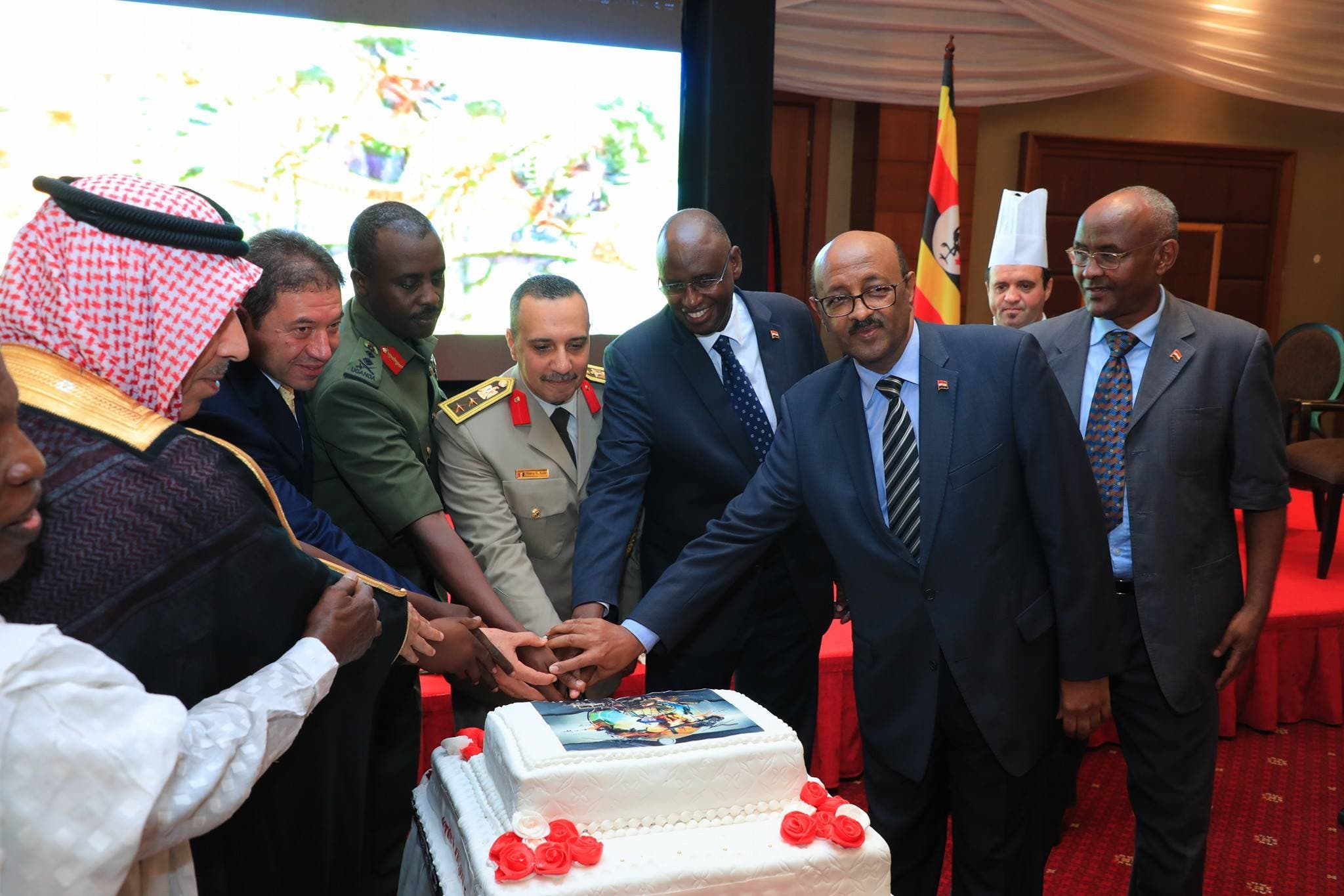 Vom Besuch der ägyptischen Delegation in Uganda