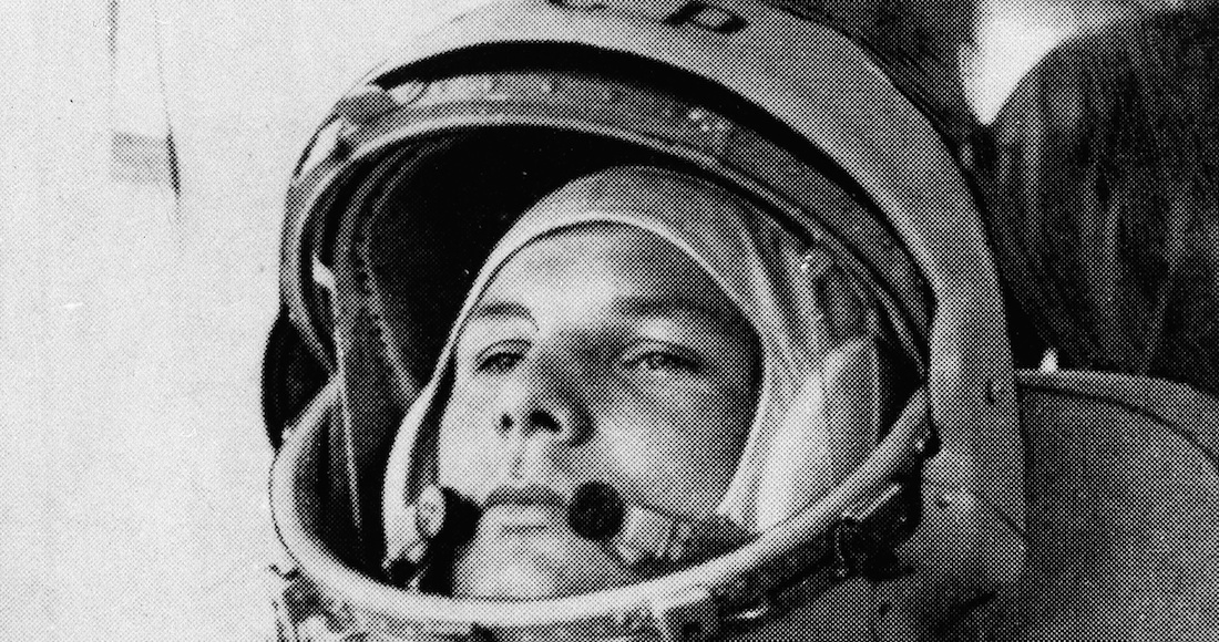 """""""I'm on fire. Goodbye, comrades.""""  60 years ago, Yuri Gagarin was the first human to reach space"""