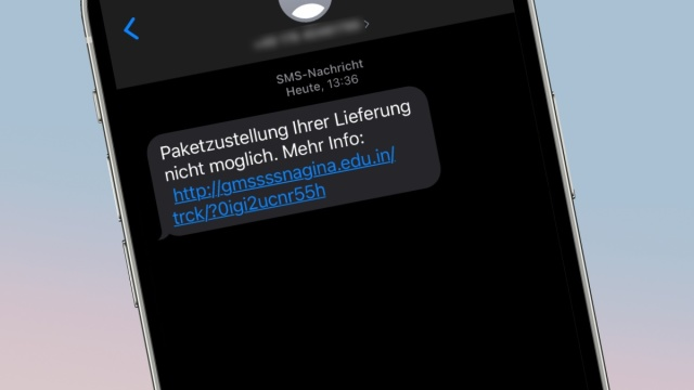 Millions of fake SMS package messages: this is how you can protect yourself from them