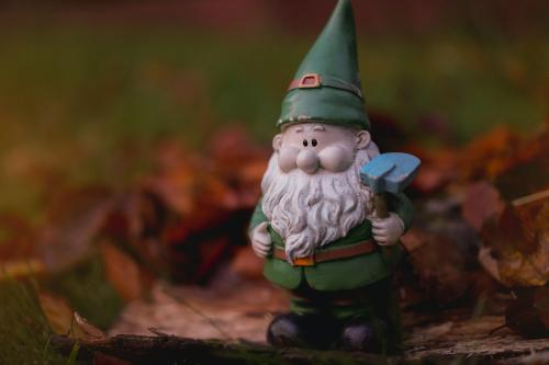 Why is the shortage of garden dwarves affecting the UK?