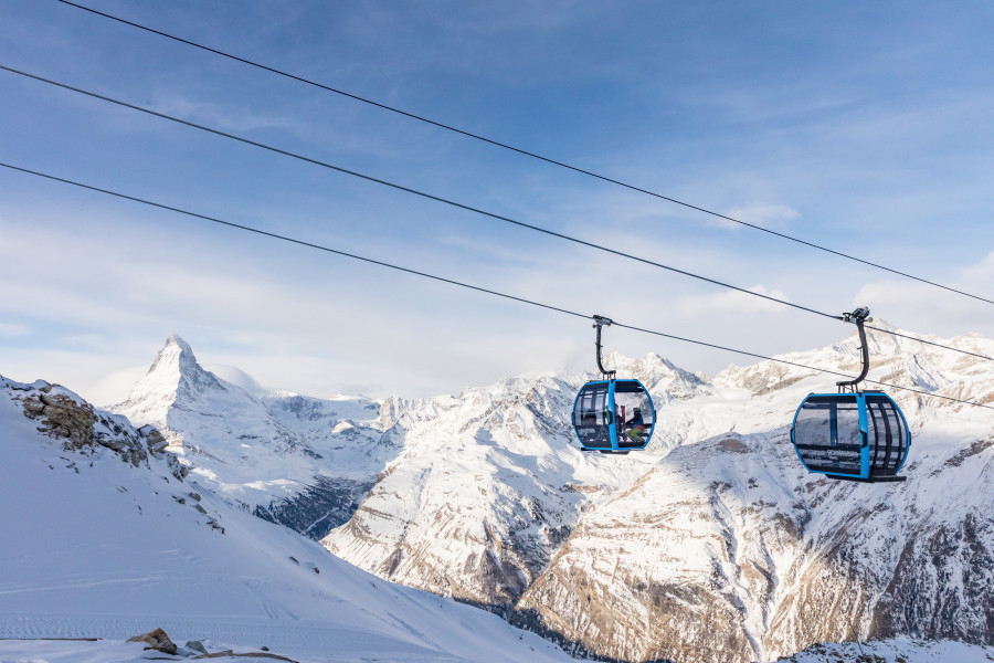 Zermatt continues to invest and launch the first independent gondola across Switzerland