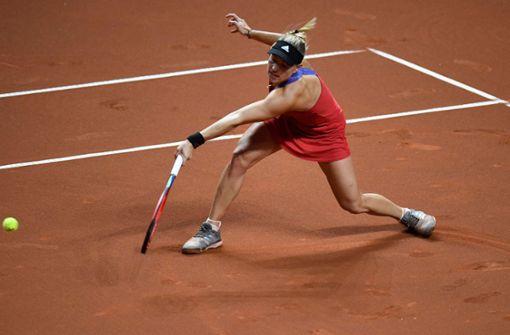 Angelique Kerber confidently started in Stuttgart.  Photo: AFP / Thomas Kinzel