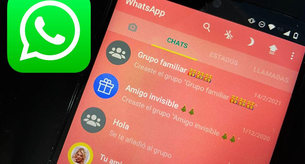 WhatsApp |  How to change the application color to pink |  Applications |  Smartphone |  Cell Phones |  The trick  Tutorial |  Viral |  United States |  Spain |  Mexico |  NNDA |  NNNI |  SPORTS-PLAY