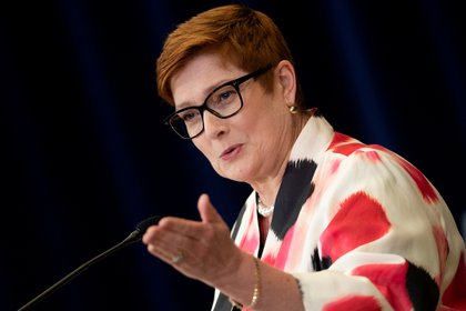 File photo: Australian Foreign Minister Maryse Payne (Brendan Smialowski / Pool via REUTERS)