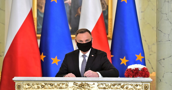 President Andrzej Duda spoke at the climate summit