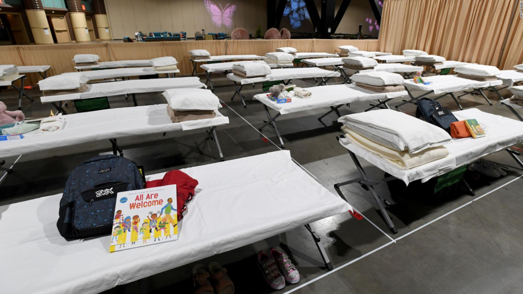 This shelter will receive around 1,000 minor immigrants