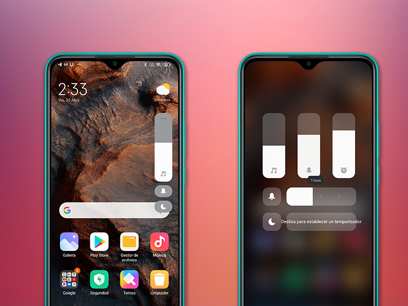 Install the new volume control on your Xiaomi mobile phone: it's much better