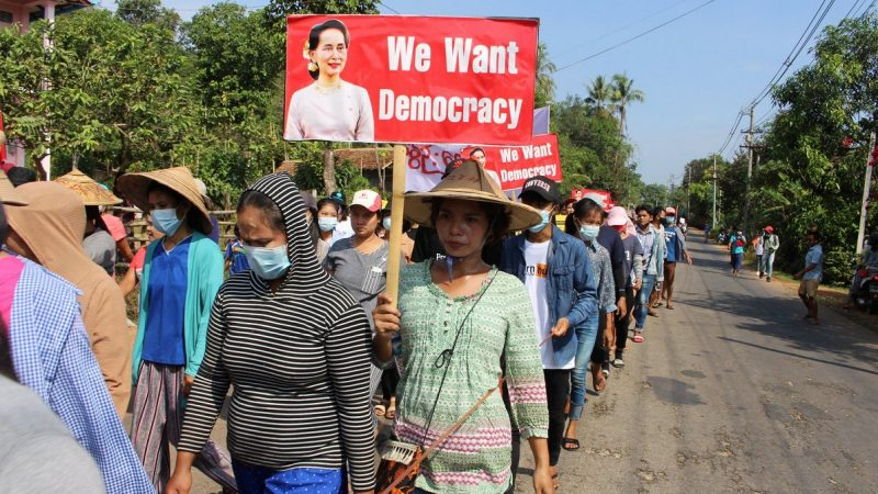 600 people have been killed in Myanmar since the protests began / Article / LSM.lv