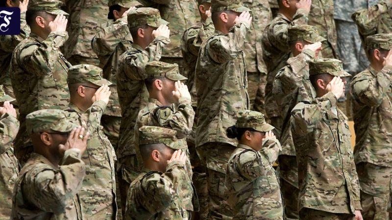 Biden reviews Trump's troop plans