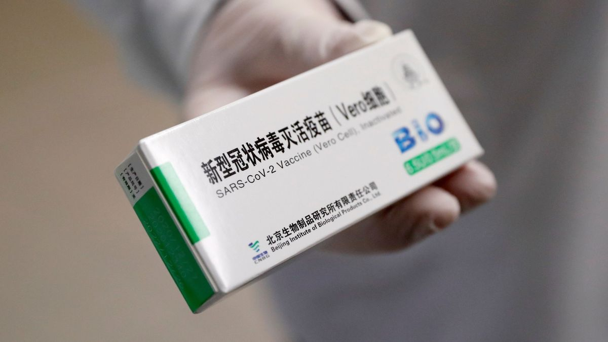 China has recognized that our vaccines are not very effective