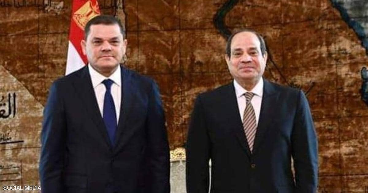 Dabaiba: Egypt's water security is part of the Libyan National Security