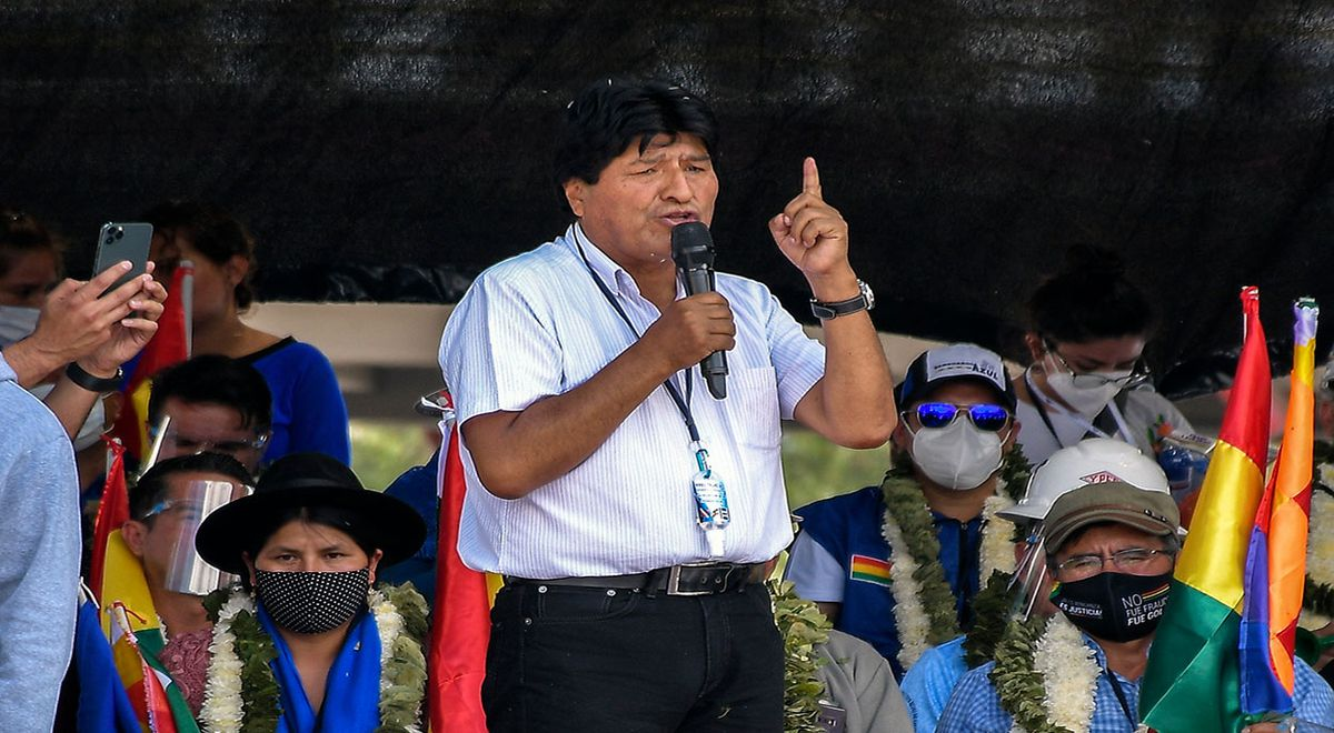 "Evo Morales salutes Pedro Castillo's intention to ""re-establish Peru"""