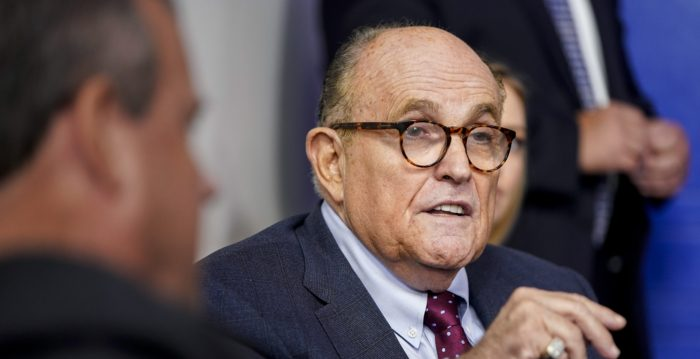 FBI searching Giuliani's apartment: seized electronic devices