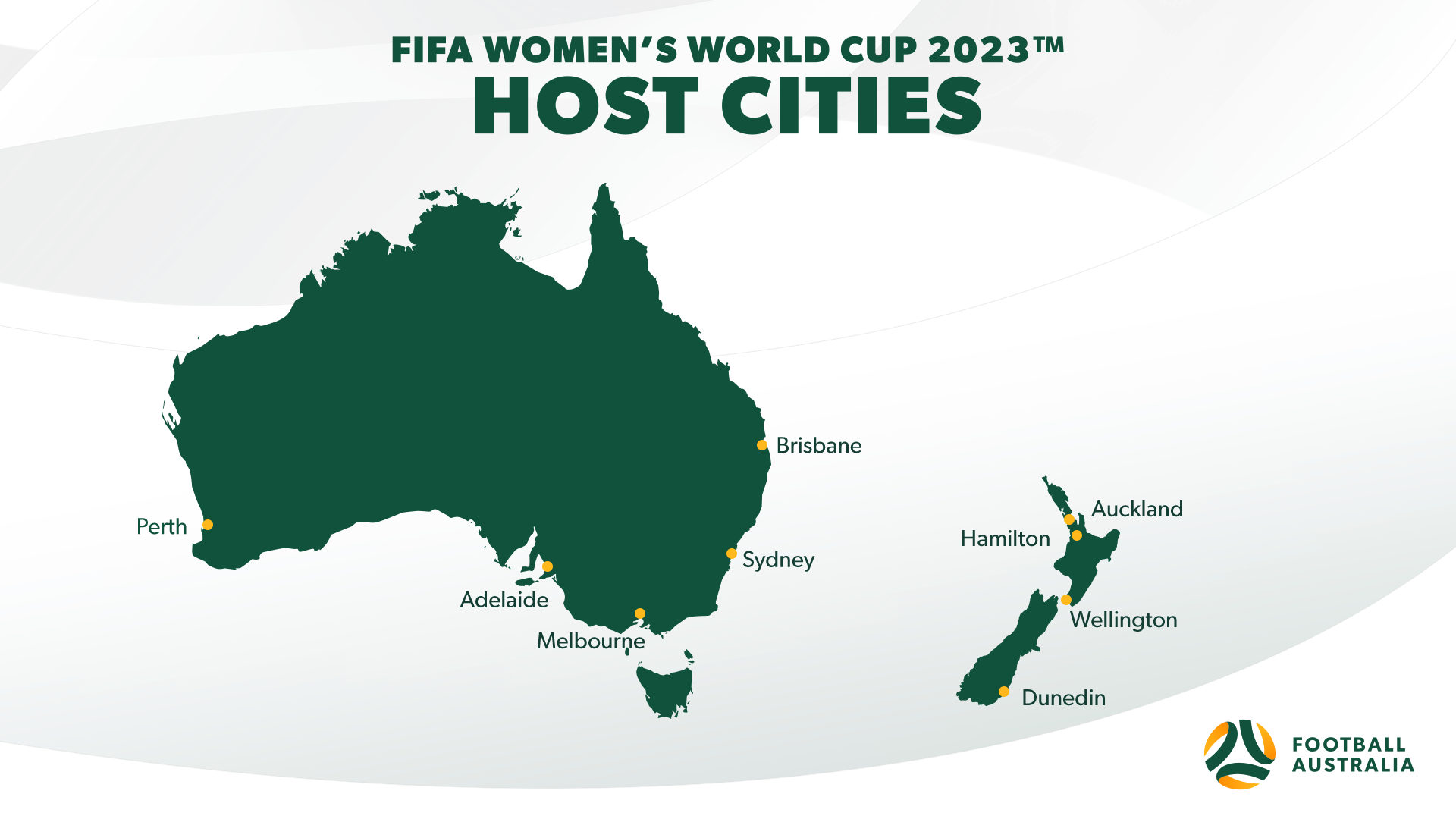 Venues for the 2023 FIFA Women's World Cup ™ in Australia and New Zealand