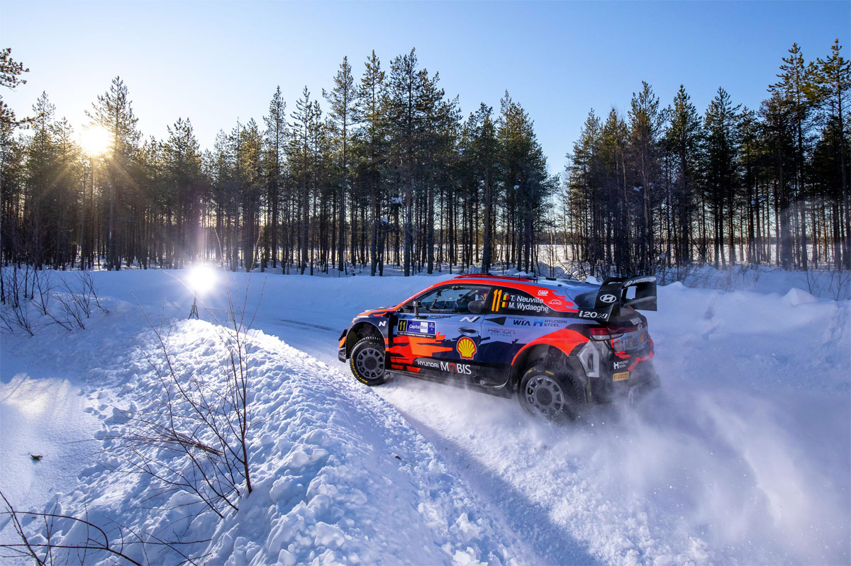 Finland Rally - North Pole 2021