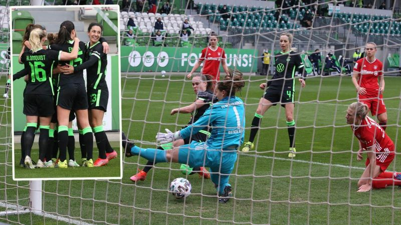 """German Women's League before the final race: Wolfsburg """"has nothing to lose"""""""
