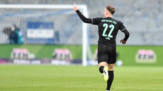 Goal premiere!  Furth Raum turns zero into one sport