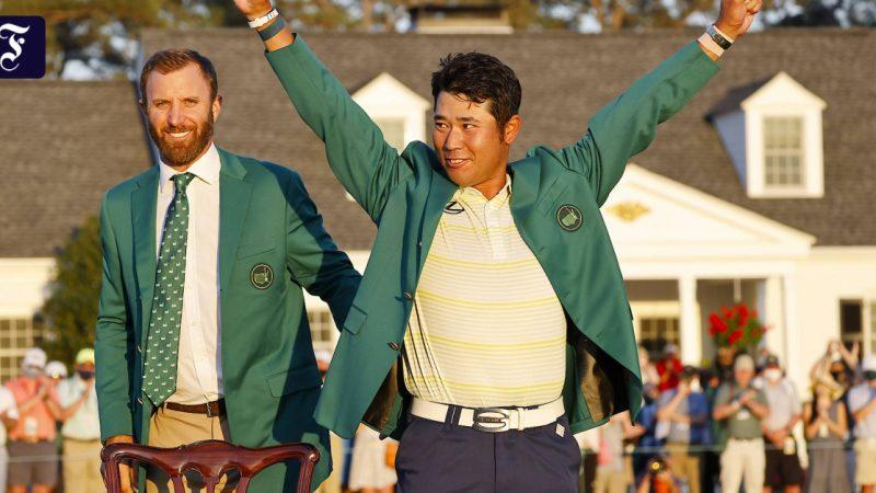 Hideki Matsuyama wins the MA in Augusta