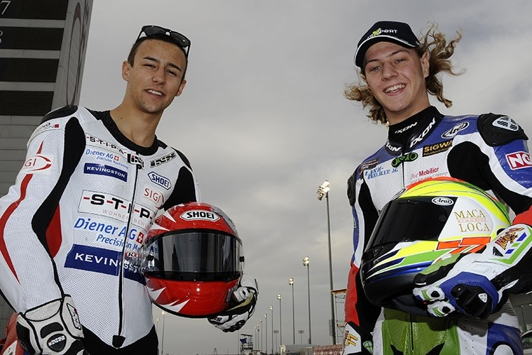 Krummi vs Aegerter: This was already the case in GP Times / Supersport World Championship