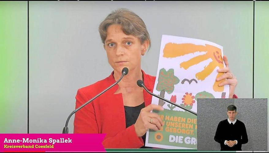 Promising place in the list of vegetables d.  Anne-Monika Spallek from Billerbeck: Bundestag Opportunities – Coesfeld