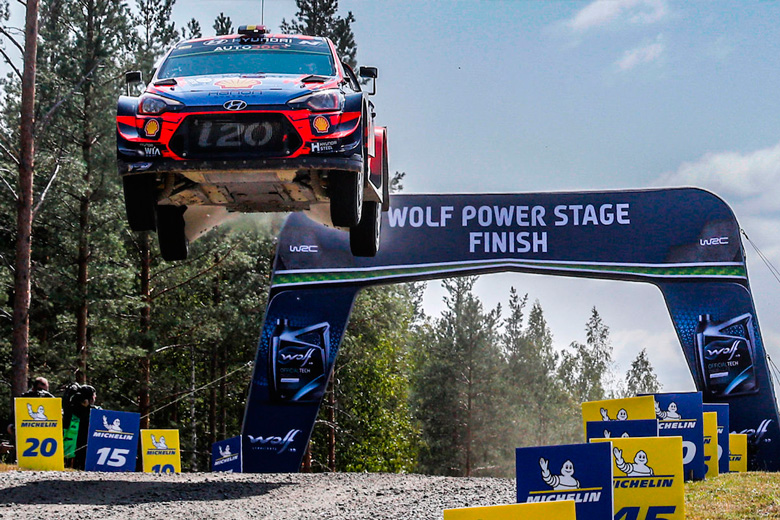 Rally of Finland postpones the celebration for two months