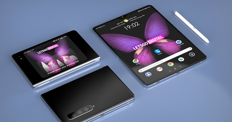 Samsung Galaxy Z Fold 3 may support S Pen interaction but there is no dedicated accessory slot