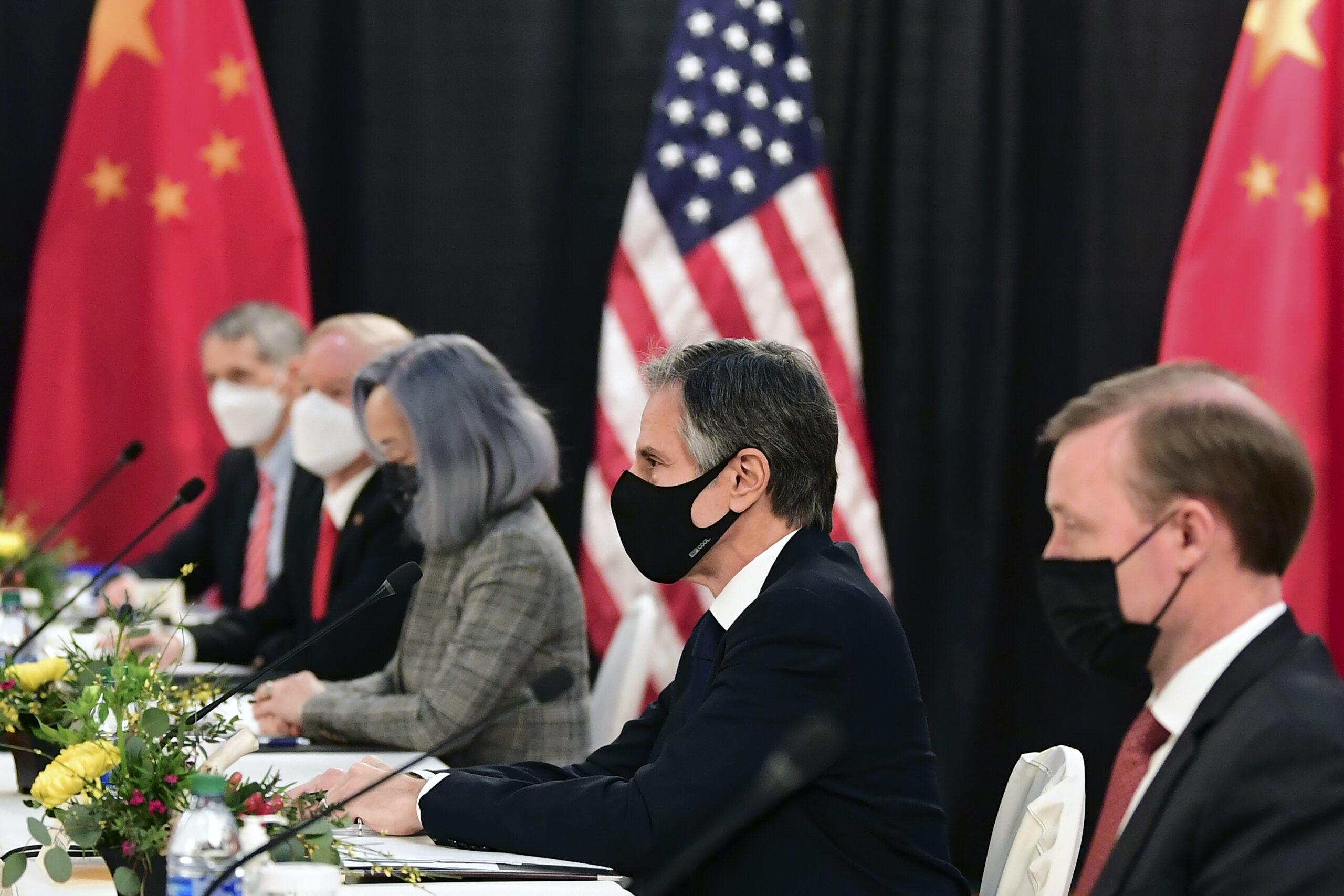 So Washington lends its side to China