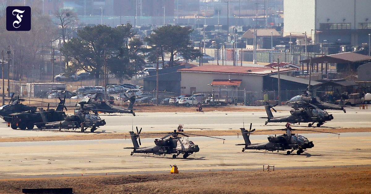 South Korea and the United States reach an agreement in the troop conflict