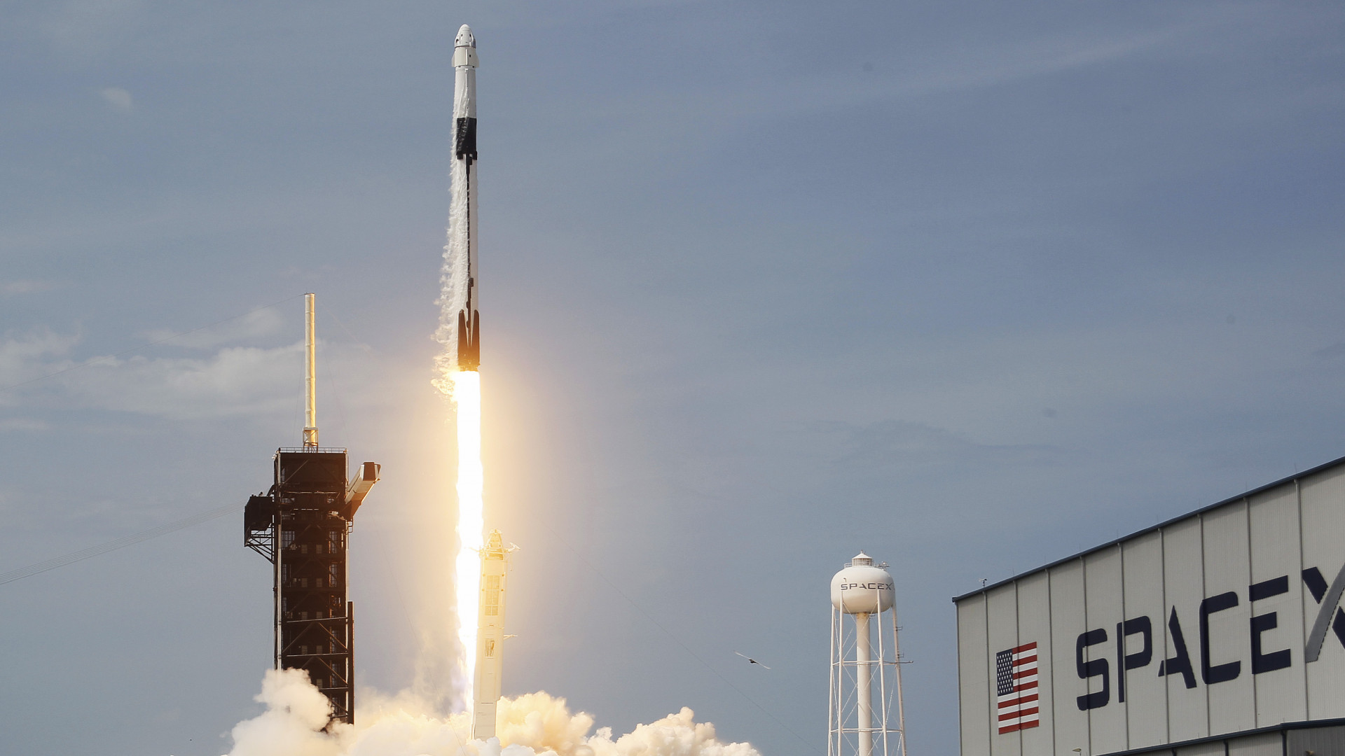 SpaceX has made a historic launch