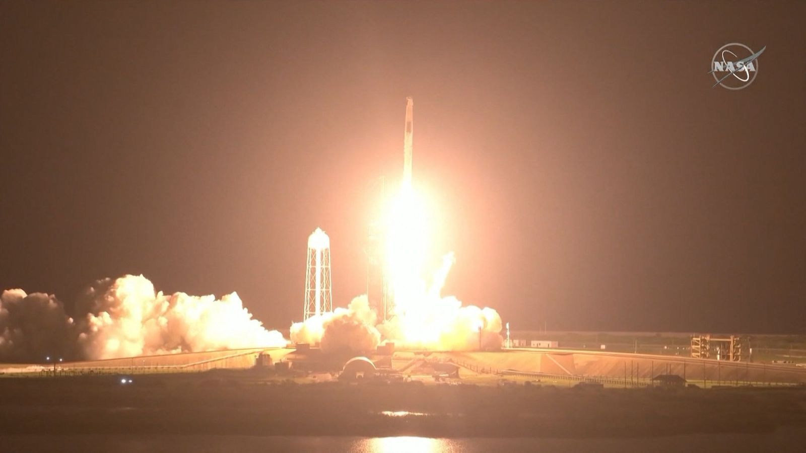 SpaceX's new mission to the International Space Station (ISS) begins