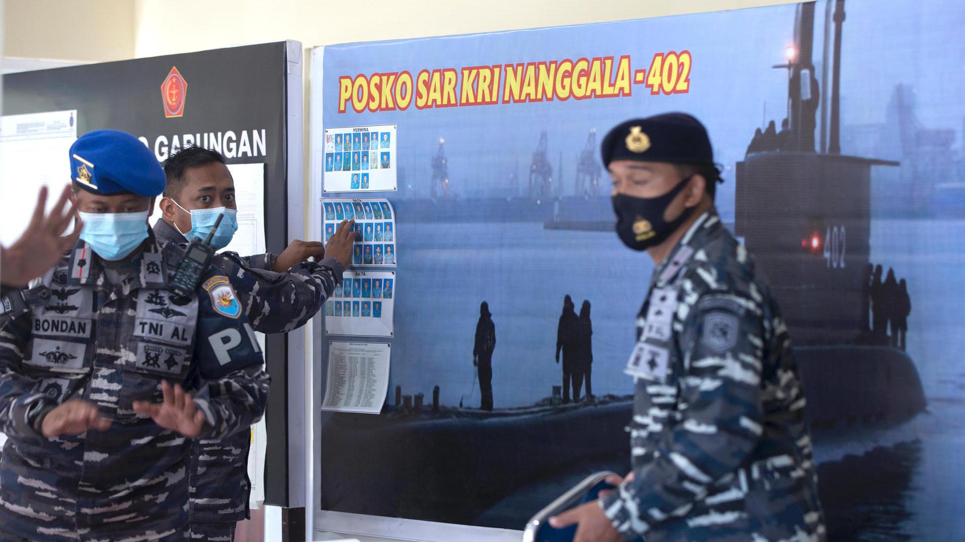 Submarine still missing off Bali – US sends aid