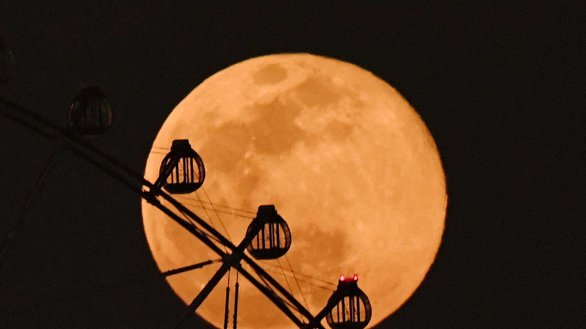 Super Moon: The largest full moon of 2021 shines in the sky in April and May
