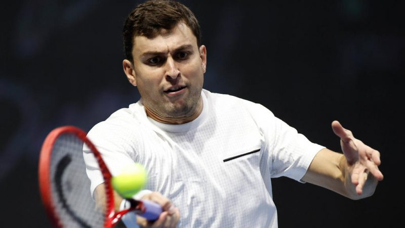 The journey continues at the Australian Open!  Karatsev also closes Dimitrov