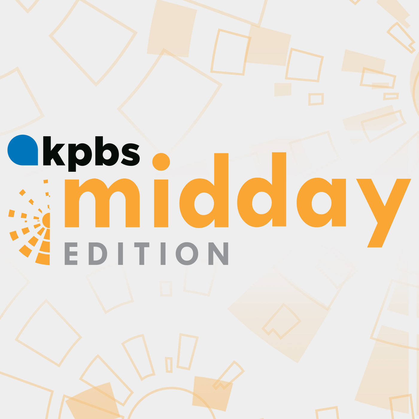 Podcast brand for KPBS segments Midday Edition