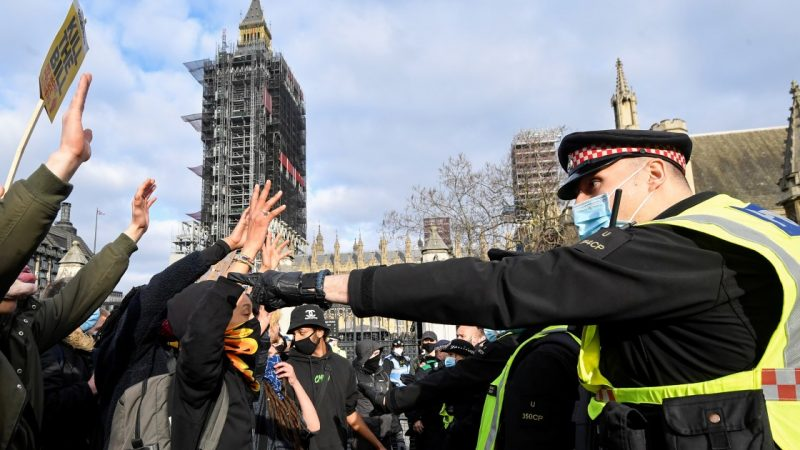 Thousands in the UK demonstrate against the controversial law