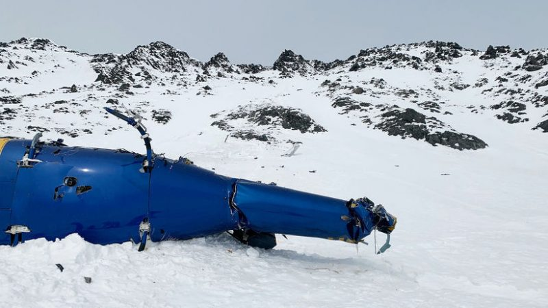 US authorities have recovered the wreckage of a helicopter in which Kilner World News had died