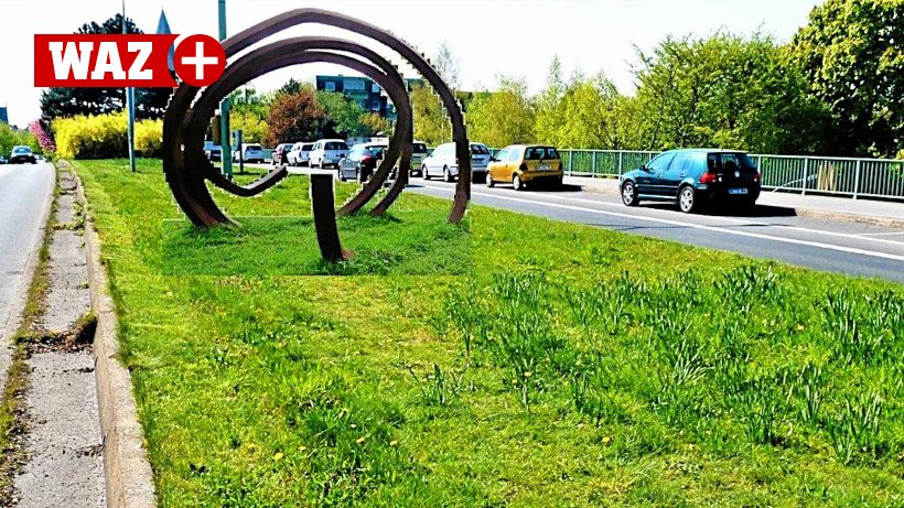 Use the public space in Gladbeck for 'the art of driving'