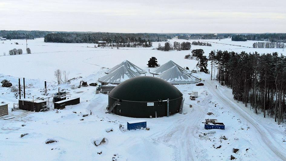Weltec Biopower builds biogas plant in Finland – Energy Sheet