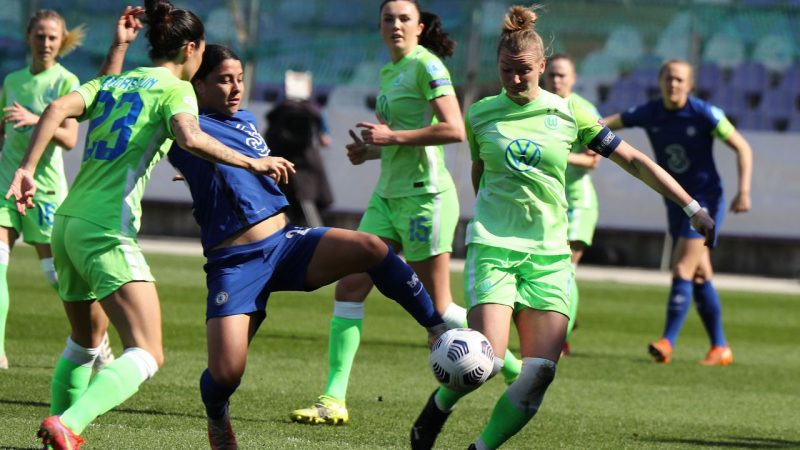 Women's Football - UEFA Champions League: Chelsea and Sam Kerr is too strong for Wolfsburg