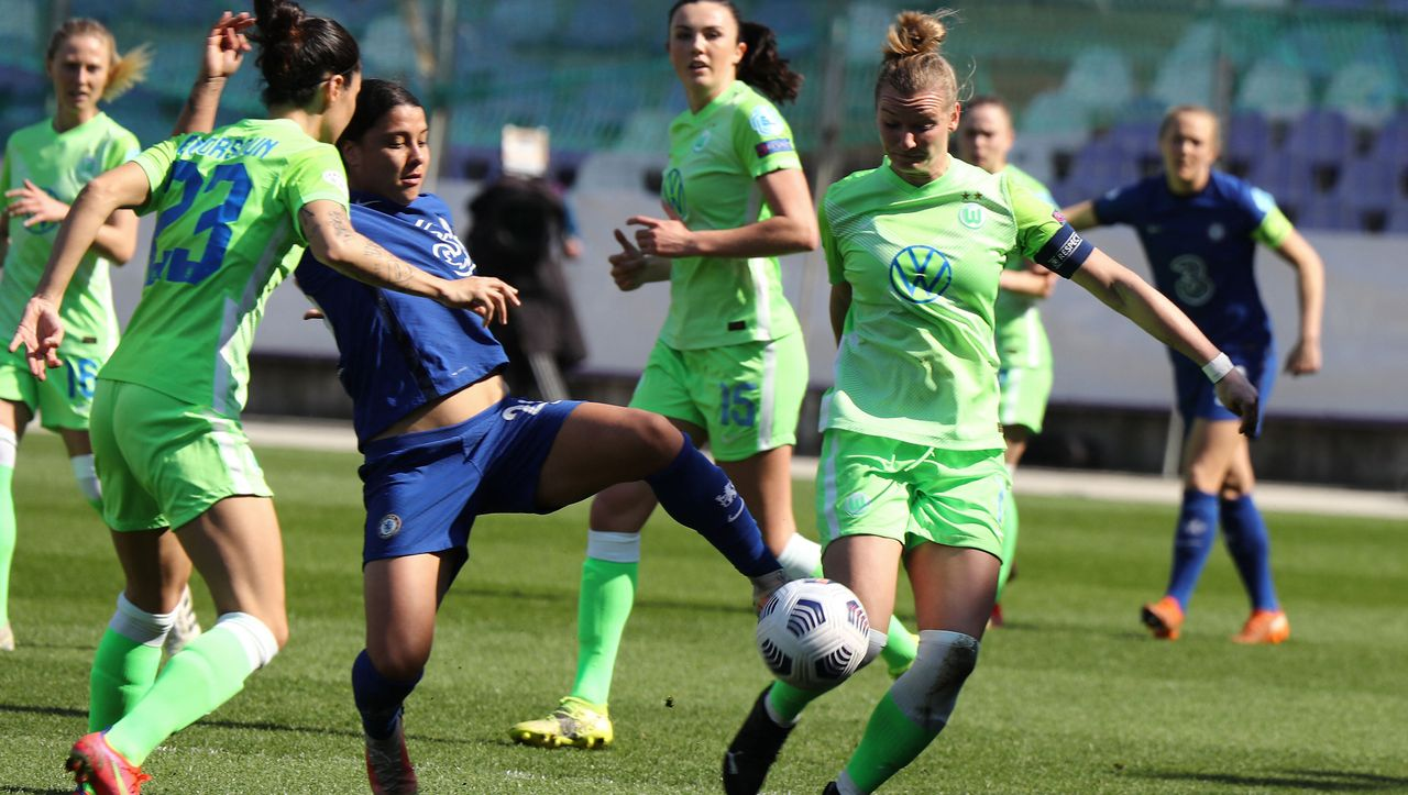 Women's Football – UEFA Champions League: Chelsea and Sam Kerr is too strong for Wolfsburg