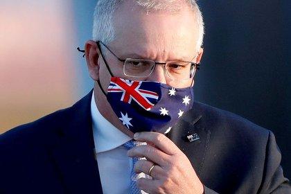 File Photo: Australian Prime Minister Scott Morrison, 2020 (Reuters) / Isa Kato