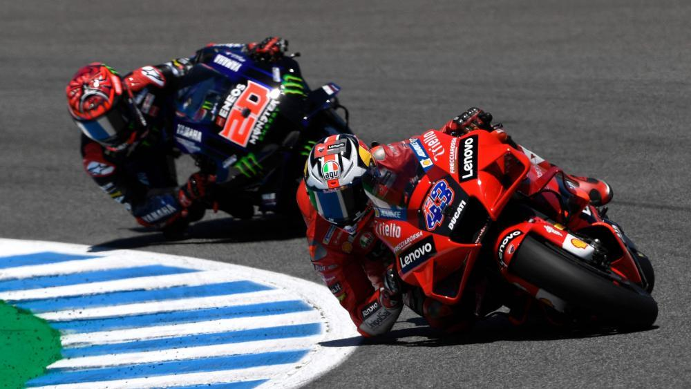 Ducati double in Jerez: Miller leads Bagnaya, Quartararo out of control – MotoGP