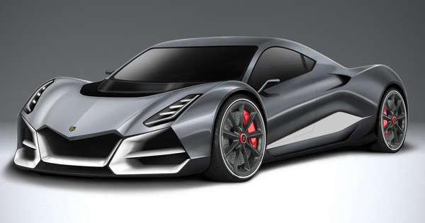 """Alpine horror"" The new Swiss hyper car"