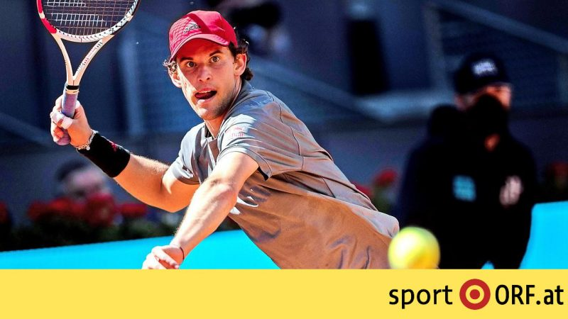 Tennis: Tim qualified to the quarter-finals in Madrid