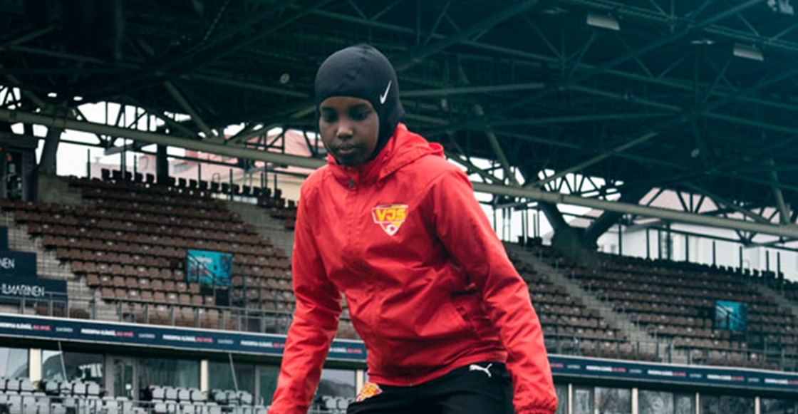 The Finnish League and Nike donate headscarves to its players to promote equality