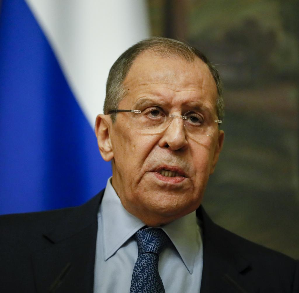 Sergey Lavrov, Minister of Foreign Affairs of Russia